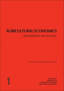 AgricEcon 1-2015